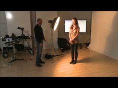 The Secret to Perfect Butterfly Lighting in Portraits - YouTube