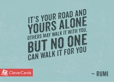 Wednesday Wisdom from CleverCards.