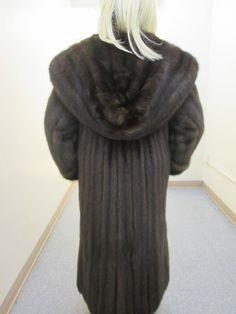 "YES TO ELEGANCE! A Barguzin Russian Sable Fur Coat 50"" LONG val $160K SZ 8-10 A+"