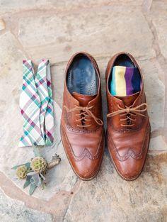 Groom's shoes: http://www.stylemepretty.com/texas-weddings/2015/08/03/organic-romantic-texas-agave-estates-wedding/ | Photography: Dana Fernandez - http://www.danafernandezphotography.com/