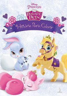 «Palace Pets: História para Colorir», Publicações Dom Quixote