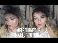 Melbourne Cup/ Races Makeup Tutorial ♡ Using Drugstore Products ♡ Jasmine Hand - YouTube