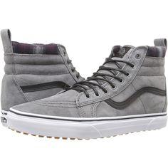 bfadb23336 Vans SK8-Hi MTE ((MTE) Pewter Plaid) Skate Shoes (