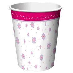 'Tutu Much Fun' Paper Cups 8pack £2.85
