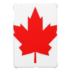 Canadian Maple iPad Mini Cover!  #new #flag #zazzle #store #gift #shop #customize #home #apparel #office http://www.zazzle.com/flagsbydww25921*