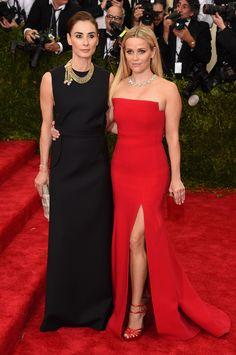 Francesca Amfitheatrof et Reese Witherspoon en Tiffany & Co.