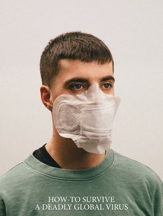 Designer Max Siedentopf has created images showing alternative coronavirus masks, which he calls How-To Survive A Deadly Global Virus. Create Image, Everyday Objects, Image Shows, Alternative Fashion, Biodegradable Products, Funny Pictures, Survival, Portraits, Mandala