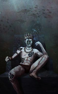 Hollow King, kho olat on ArtStation at https://khoolat.artstation.com/projects/LNeeA