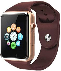 Welrock Bluetooth Smart Watch for All Android Phones Featured with Sim Card Slot Fitness Activities, Daily Activities, Smart Watch Apple, Apple Watch, Wearable Device, Significant Other, Text Messages, Gold Watch, Smartphone