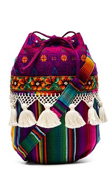 Bags & Handbag Trends : STELA 9 Elote Bucket Bag in Hacienda - Flashmode Worldwide Spring Handbags, Marc Jacobs Handbag, Boho Bags, Designer Wallets, Handmade Bags, Fashion Bags, Leather Handbags, Bucket Bag, Purses And Bags