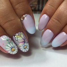 Gorgeous Nails, Pretty Nails, Basic Nails, Flower Nails, Nail Flowers, You Look Beautiful, Hot Nails, Nail Art Designs, Nail Polish