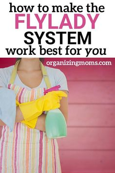 Find out how to make the FlyLady system work for you in your current season of life. Resources and tips to help you get started and get organized! Fly Lady Cleaning, Zone Cleaning, Cleaning Checklist, House Cleaning Tips, Diy Cleaning Products, Spring Cleaning, Cleaning Hacks, Cleaning Routines, Deep Cleaning