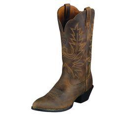 Ariat Women's Brown Heritage Western Cowboy Toe Boot