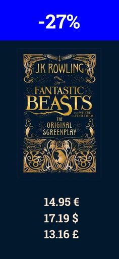 You should also read the book Fantastic Beasts and Where to Find. Now it is 27% off on bookdepository. J.K. Rowling is the author of the bestselling Harry Potter series of seven books, which have sold over 450 million copies, been translated into 79 languages, and made into eight blockbuster films. She has written three companion volumes in aid of charity: Quidditch Through the Ages and Fantastic Beasts and Where to Find Them (in aid of Comic Relief), and The Tales of Beedle the Bard (in aid…