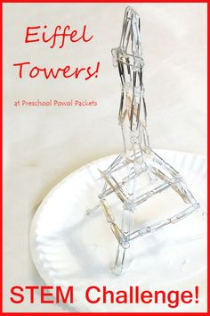 Our Eiffel Tower STEM Challenge is loads of fun and brings together fine motor skills, practical engineering, math, and creativity!        ...
