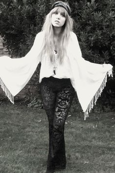 Lace and Bells and free-spirit. The Boho era and look has always been where I am most comfortable.