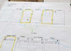 Image result for wireframe sketching