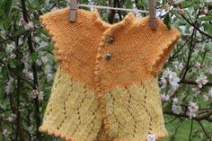 Zig Zag Baby Cardigan Pattern $8CDN – Fleece & Harmony PEI