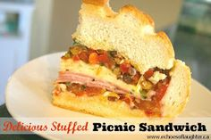 Echoes of Laughter: The Perfect Picnic Sandwich {Oh Yes It Is!}