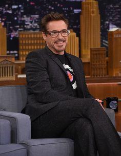 Robert Downey Jr. Photos - Robert Downey Jr. visits 'The Tonight Show Starring Jimmy Fallon' at Rockefeller Center on May 5, 2016 in New York City. - Robert Downey Jr. Visits 'The Tonight Show Starring Jimmy Fallon'