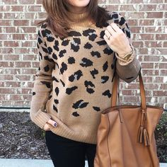 I can get behind a sweater like this