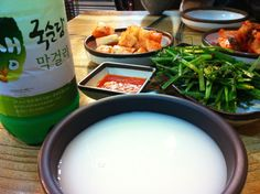 Makgeolli / Raw rice wine