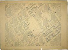 Plan Voisin, Paris, France, 1925 / Le Corbusier
