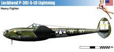 Lockheed P-38J-5LO Lightning