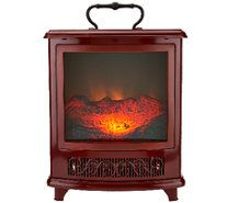 Delightful Duraflame 1500W Small Portable Heater With Realistic Flame Effect