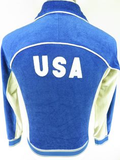 Vintage 80s Levis Olympic team USA jacket. Find more men's and women's authentic vintage clothing at The Clothing Vault.