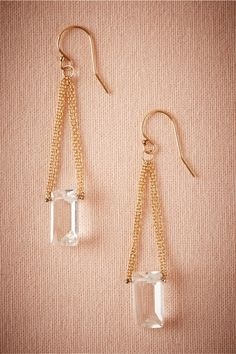 Icebox Drops in Bride Bridal Jewelry at BHLDN