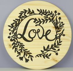 Love Virtual Class, Diy Arts And Crafts, Paint Party, Craft Kits, Wood Signs, Painting, Wooden Plaques, Wooden Signs, Painting Art