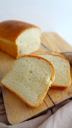 Homemade sandwich bread (the perfect recipe! Cooking Bread, Cooking Chef, Cooking Bacon, Homemade Sandwich Bread, Masterchef, Perfect Food, Sweet Recipes, Love Food, Food And Drink
