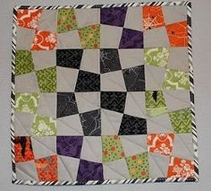 One Hour Hexagon Baby Quilt | FaveQuilts.com