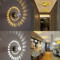 LED Home Wall Light Spot Lighting Lamp Bedroom Hotel Modern Sconce Fixture Home Lighting, Lighting Design, Bathroom Lighting, Mirror Bathroom, Rustic Lighting, Diy Home Crafts, Diy Home Decor, Room Decor, Ceiling Design