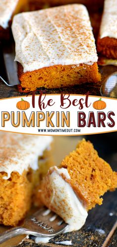 The BEST Pumpkin Bars with Brown Butter Cream Cheese Frosting are perfect for a crowd! You won't be able to keep your hands off of this moist dessert with flavors that scream fall. Easy to make in one bowl, you'll find yourself making this healthy recipe again and again!