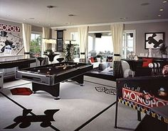 Monopoly Game Room