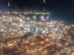 Minecraft Underground City