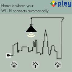 """Home is where your WI-FI connects automaticaly"""