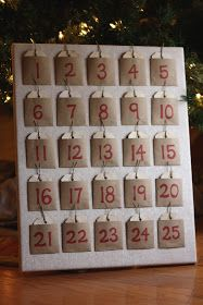 It's a Strange and Lovely Ride: Christmas Countdown {DIY Advent Calendar}