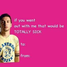 Seriously, if someone gives me this on Valentine's Day, I would totally go out with them.