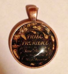 Pride and Prejudice Necklace Charm, $10.00, FREE shipping anywhere in the U.S.  www.etsy.com/shop/PortableMagic