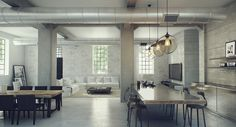 5 Key Elements To Create an Industrial Style Apartment