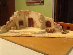 Nativity House, Winter Holidays, Christmas Crafts, Decoration, Miniatures, Wallpaper, Theater, Ideas, Diy