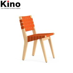 Source Replica wood dining chair Risom side bandage seat chair on m.alibaba.com