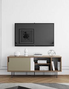 Sideboard »Dann«, mit Schiebetüren, Breite 165 cm