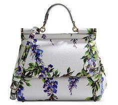 www.fashionmyloveitaly.com DOLCE & GABBANA Medium leather bag Dream Price € 2.000,00 SPRING/SUMMER 2015 FASHION TRENDS: FLORAL PRINT - Fashion My Love! Italy by Areta Hysa