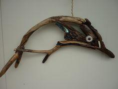 Driftwood Sculpture, Driftwood Art, Driftwood Ideas, Nature Table, Drift Wood, Sea Art, Fish Art, Dali, Wood Carving