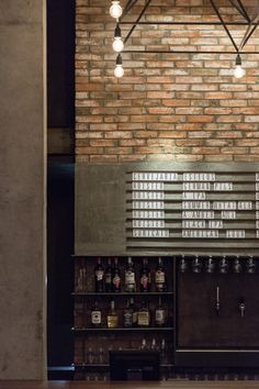 Roister | food and beer culture #restaurante #architecture #concrete #brick #wood # iron