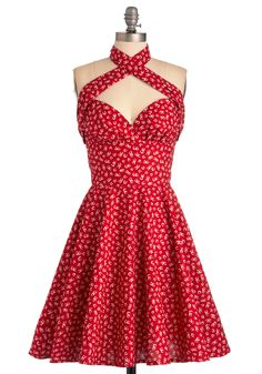 Barefoot in Big Oak Dress   Mod Retro Vintage Dresses   ModCloth.com